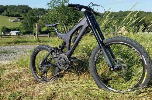 2400 Watt E-MTB Specialized BIG HIT 200mm DH + FR