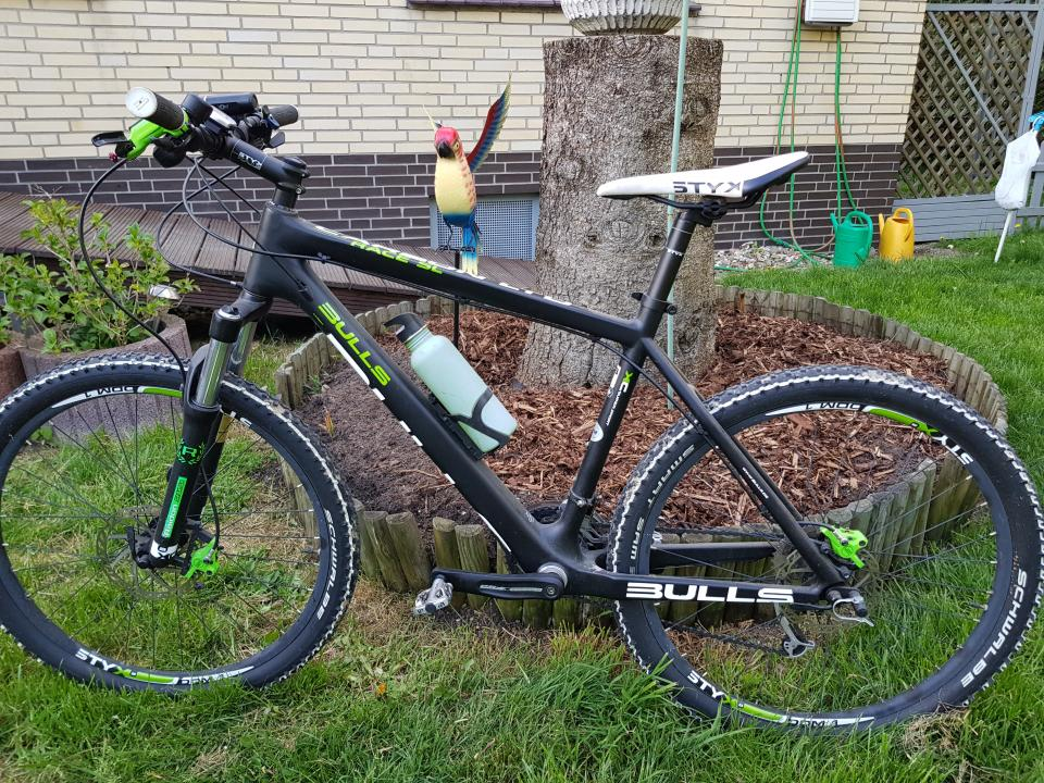 Mountainbike Carbon 52 cm - Bild 0